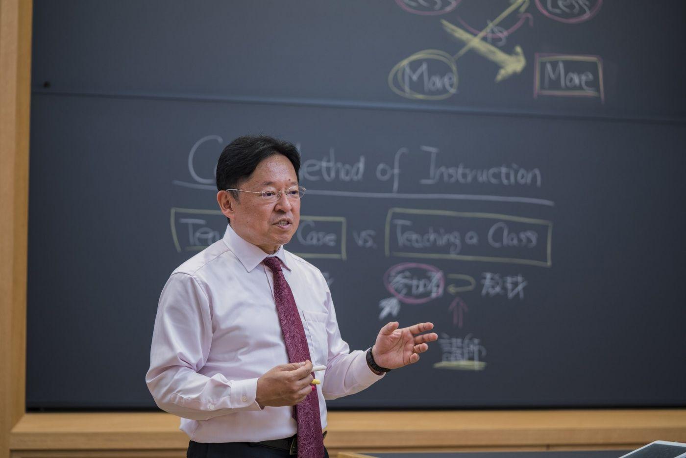 MBA単科:名古屋》ケースメソッド実践法 竹内伸一教授 | 名商大ビジネス ...