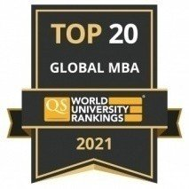 QS Global MBA Rankings 2021